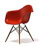 Кресло для офиса, кресло пластиковое для посетителей, кресло для кафе (Тауэр Вуд красный), фото 3