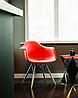Кресло для офиса, кресло пластиковое для посетителей, кресло для кафе (Тауэр Вуд красный), фото 4