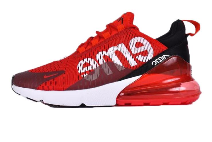 552d46a6 Мужские кроссовки Nike Air Max 270 SUPREME Red/ (Реплика ААА+): ...