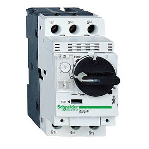 Автоматические выключатели с магнитным и комбинированным расцепителем до 15кВт GV2P