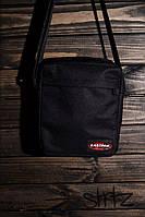 Отличная сумка мессенджер истпак, барсетка черная Eastpak