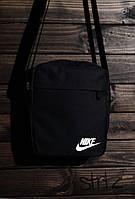 Универсальная сумка мессенджер найк, барсетка черная Nike