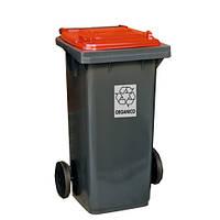 FILMOP Бак для мусора красная крышка 120л