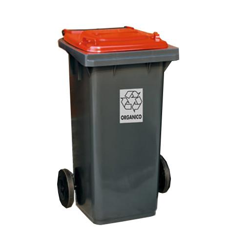 FILMOP Бак для мусора красная крышка 240л