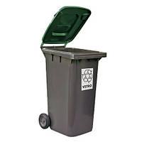 FILMOP Бак для мусора зеленая крышка 240л