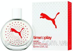 Puma Time to play Woman 60 ml  туалетная вода женская (оригинал подлинник  Германия)