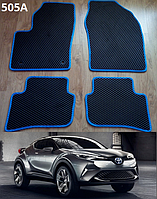 Коврики на Toyota C-HR '16-н.в. Автоковрики EVA