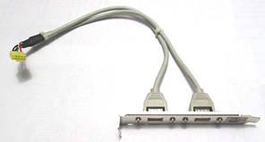 Косичка USB (для вывода внутренних USB на заднюю панель)