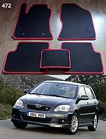 Коврики на Toyota Corolla '02-07. Автоковрики EVA