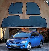 Коврики на Toyota Corolla '07-12. Автоковрики EVA