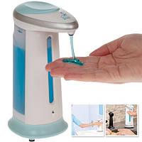 Сенсорная мыльница Soap Magic дозатор для мыла, Сенсорный дозатор для жидкого мыла, Диспенсер Дозатор, фото 1