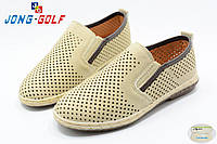 Демисезонные детские туфли Jong Golf для мальчика(весна-осень), р-р 31-36 (C) (мин заказ 8 пар)