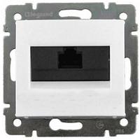 Механизм розетки компьютерной RJ45 кат.5e UTP белый 774230 Legrand Valena