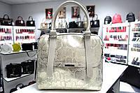Женская кожаная сумка Galanty 10476А beige