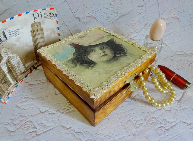 Подарок для женщин Шкатулка | UkrainianBox