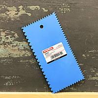 Шпатель пластиковый для структуры 100*210 мм #542