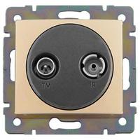 Механизм розетки TV+R простой 862МГц 14dB слоновая кость 774332 Legrand Valena