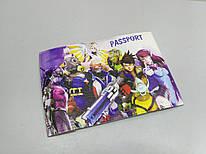 Обложка на паспорт/загранпаспорт Овервотч