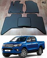 Коврики на Toyota Hilux '15-н.в. Автоковрики EVA