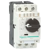 GV2P02 Автоматический выключатель с комбинированным расцеплением 0,16-0,25А