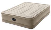 Надувная кровать двуспальная Intex 64458 (152х203х46 см.) + 220Vнасос
