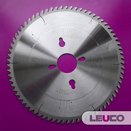 350x4,4/3,2x60 Z=72 Основна дискова пила Leuco для пильних центрів, фото 2