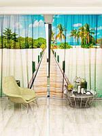 Фотоштора Тропічний пляж (0536_1_1)