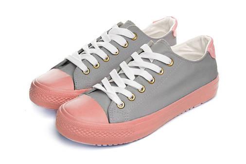 Кеды Женские Keds grey pink 38, фото 2