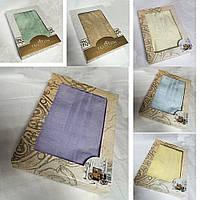 Махровое полотенце  в подарочной коробке 90х160