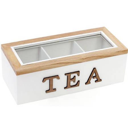 Коробка для хранения чая и сладостей 23 х 10.5 х 8 см