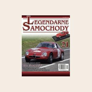 Модель Легендарные Автомобили (Amercom) №21 Alfa Romeo TZ