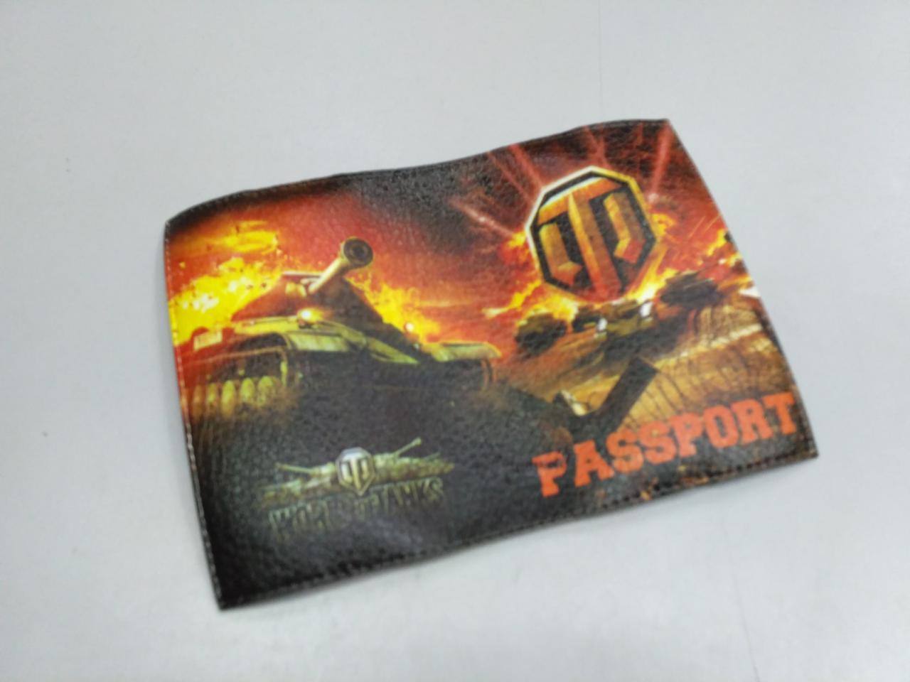 Обложка на паспорт World of Tanks