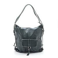 Женская сумка-рюкзак 66012 green