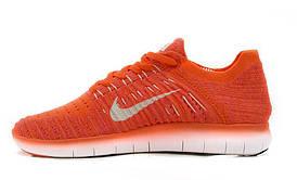 "Женские кроссовки Nike Free RN Flyknit ""Coral"""