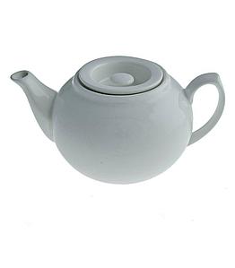 Чайник заварочный фарфоровый 470 мл. белый Cafe time, FoREST