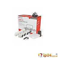 Комплект видеонаблюдения Hikvision DS-J142I/7104HGHI-F1 (4 out), фото 1