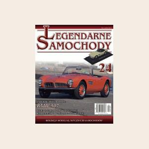 Модель Легендарные Автомобили (Amercom) №24 BMW 507