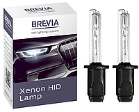 Комплект ксеноновых ламп H1 6000k. 85V 35W P14.5s (KET) - Brevia  12160- Южная Корея