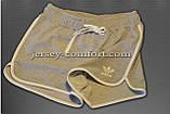 Шорты женские спортивные трикотажные окантовка. Белые. Мод. 234., фото 9