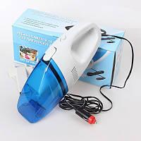 Компактный автомобильный пылесос High-power Portable Vacuum Cleaner, Пылесос в машину, Авто Пылесос, фото 1