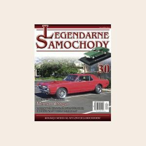 Модель Легендарные Автомобили (Amercom) №30 Mercury Cougar - 1967