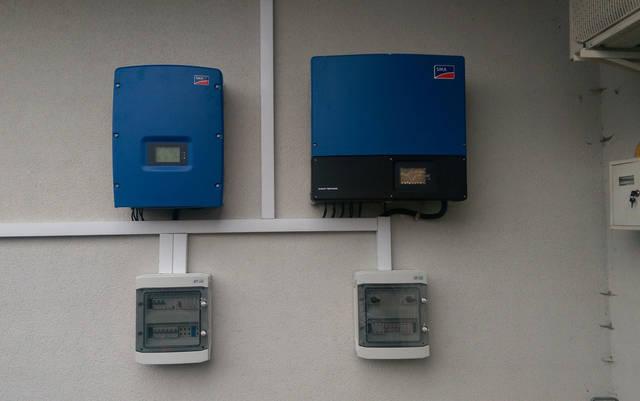 Сетевая солнечная электростанция 30 кВт, Львовская область, г.Сокаль . -1