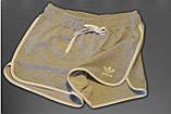 Шорти жіночі спортивні трикотажні окантовка. Сині. Мод. 234., фото 9
