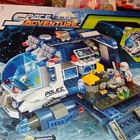 Детский конструктор космические приключения 1612 на 337д.