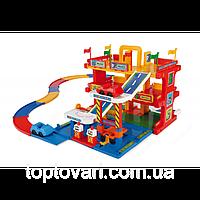 Гараж с дорогой  50400, игрушечный гараж, игрушка, игра для мальчиков