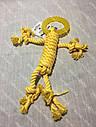 Игрушка для собак Croci веревочний человечек с кольцом 30 см, фото 2