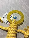 Игрушка для собак Croci веревочний человечек с кольцом 30 см, фото 3