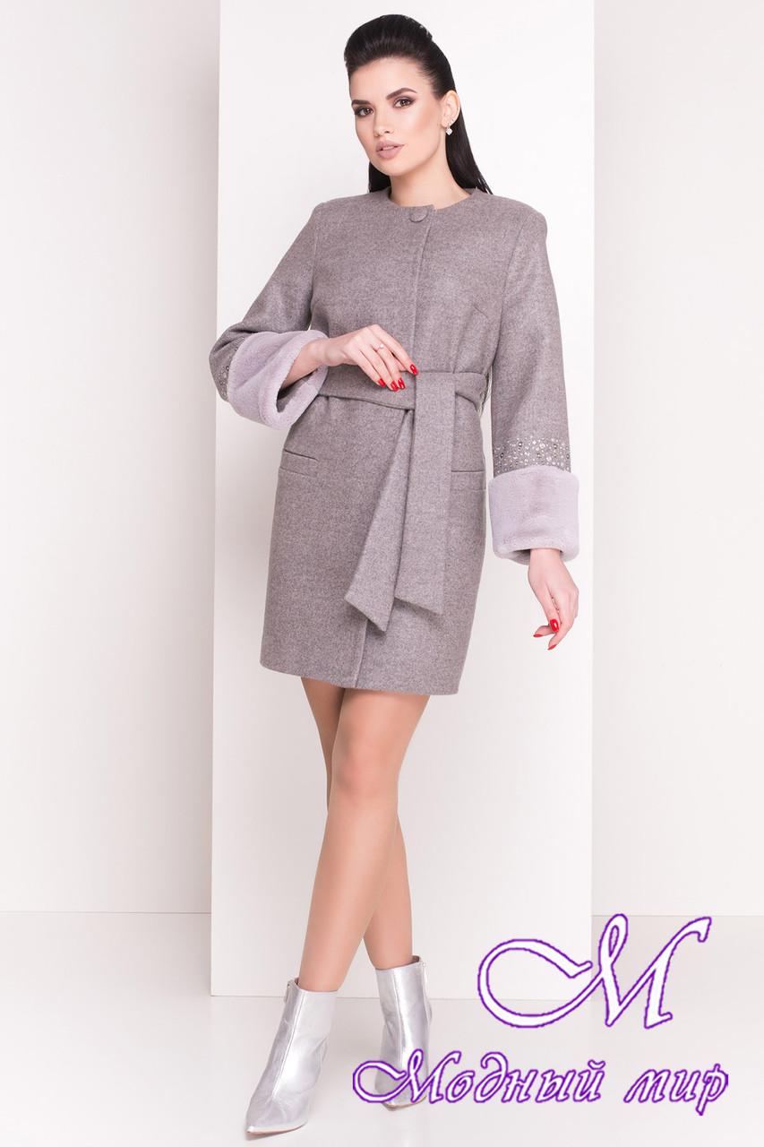 Женское элегантное пальто весна-осень (р. XS, S, M, L) арт. Амелия 4396 - 21449