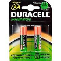 Аккумулятор АА Duracell 1300mAh (1 шт.)