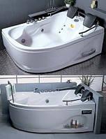 Ванна c гидро-аэро массажем акриловая угловая Appollo 180х125х66 АТ-919* правая